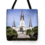 St. Louis Cathedral In New Orleans  Tote Bag