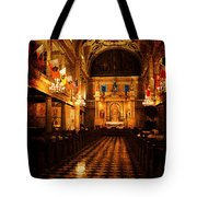 St. Louis Cathedral New Orleans - Textured Tote Bag