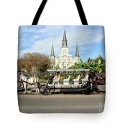 St Louis Cathedral New Orleans Tote Bag