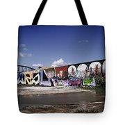 St Louis Graffiti Tote Bag