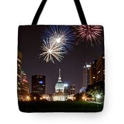 St. Louis Under Fire Tote Bag