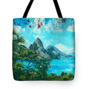 St. Lucia - W. Indies Tote Bag