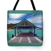 St. Maarten Pier Tote Bag