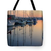 St. Malo Sunrise Brittany France Tote Bag