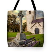 St. Marcellas Celtic Cross Tote Bag