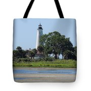 St Marks Lighthouse Tote Bag