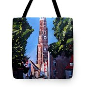 St Martin Old Town Seen From Former Munich Gate Tote Bag