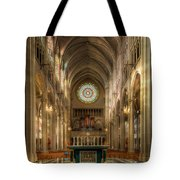 St. Mary Cathedral Basilica Of The Assumption Tote Bag