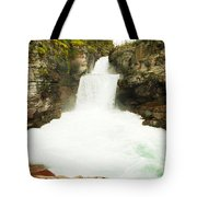 St Mary Falls Glacier National Park Tote Bag