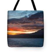 St. Mary Lake Dawn 1 Tote Bag