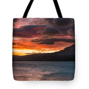 St. Mary Lake Dawn 2 Tote Bag