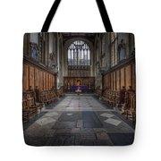 St Mary The Virgin Church - Choir And Altar Tote Bag