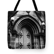 St Marys Cathedral Doors Tote Bag