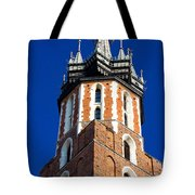 St. Mary's Church Tower Tote Bag