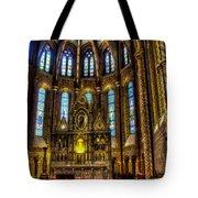 St Matthias Church Interior Tote Bag