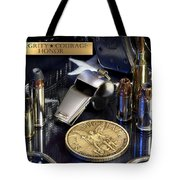 St Michael Law Enforcement Tote Bag