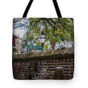 St. Michaels Alley Tote Bag