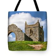 St Michael's Church - Burrow Mump 4 Tote Bag