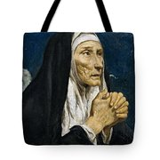 St Monica Tote Bag