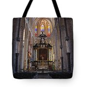St Nicholas Church Ghent Tote Bag