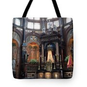 St Nicholas Church Interior In Amsterdam Tote Bag