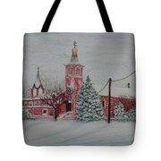St. Nicholas Church Roebling New Jersey Tote Bag