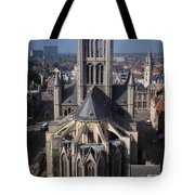 St Nicholas Church View Tote Bag