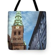 St. Nikolai Church Tower Tote Bag
