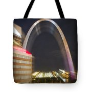St Ouis Arch Special Zoom Effect Tote Bag