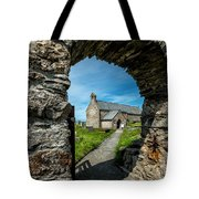 St Patrick Arch Tote Bag by Adrian Evans