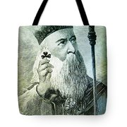 St Patrick Tote Bag by Bill Cannon