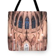St Patricks Cathedral New York Usa Tote Bag