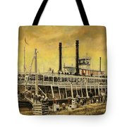St. Paul Steamboat Tote Bag