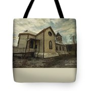 St. Pauls Anglican Church Tote Bag by Priska Wettstein