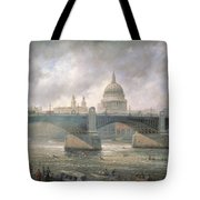 St. Paul's Cathedral From The Southwark Bank Tote Bag