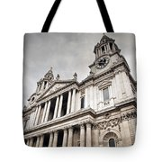 St Pauls Cathedral In London Uk Tote Bag