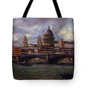St. Paul's  Cathedral  - London Tote Bag