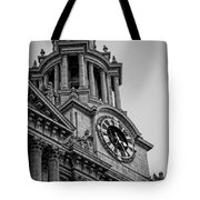 St Pauls Clock Tower Tote Bag