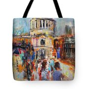 St Paul's From The Millennium Bridge Tote Bag