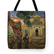 St Pauls Hospital, St Remy, 1889 Tote Bag