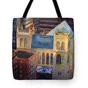 St Pauls Nyc Tote Bag