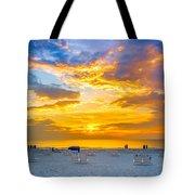St. Pete Beach Sunset Tote Bag
