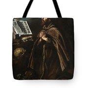 St Peter Of Alcantara Tote Bag