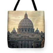 St Peter's Afternoon Glow Tote Bag by Joan Carroll