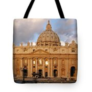 St. Peters Basilica Tote Bag by Adam Romanowicz