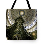 St. Peter's Basilica Dome Tote Bag