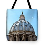 St Peters Basilica Dome Vatican City Italy Tote Bag