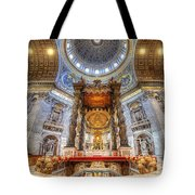 St Peter's Basilica Tote Bag