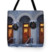 St Peters Christmas Welcome Tote Bag
