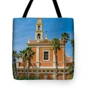 St. Peter's Church In Jaffa Tote Bag